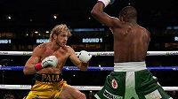 Zápas mezi youtuberem Loganem Paulem a neporaženým boxerem Floydem Mayweatherem neměl vítěze