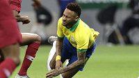 Neymar na mistrovství Jižní Ameriky hrát kvůli zraněnému kotníku nebude.