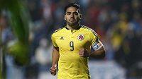 Kolumbijský kapitán Radamel Falcao se již brzy stane hráčem Chelsea.