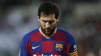 Fotbalista Barcelony Lionel Messi