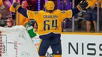 Finský útočník Mikael Grandlund prodloužil smlouvu a nadále bude oblékat dres Nashvillu.