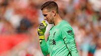Liverpoolský gólman Adrian zpytuje svědomí po hrubce ve druhém kole Premier League.