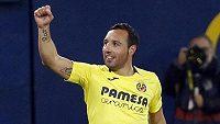 Jsem zpátky! Santi Cazorla z Villarrealu vstřelil Realu Madrid hned dva góly.