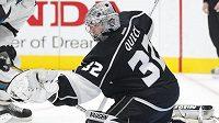 Brankář Los Angeles Kings Jonathan Quick se stal hvězdou uplynulého týdne NHL.