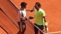 Roger Federer podlehl v semifinále French Open Rafaelu Nadalovi.
