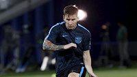 Barcelonský Lionel Messi v Tbilisi.