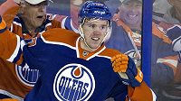 Útočník Edmontonu Connor McDavid, jdnička loňského draftu.