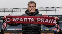 Pavel Hapal je novým trenérem fotbalové Sparty.