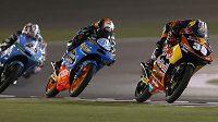 Španěl Luis Salom (39) ovládl v Kataru závod Moto3.
