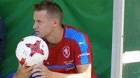 Jakub Jankto během evropského šampionáru hráčů do 21 let v Polsku