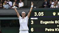 Petra Kvitová byla zvolena tenistkou měsíce.