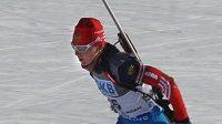 Ruská biatlonistka Jekatěrina Glazyrinová měla také problémy s dopingem