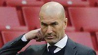 Kouč Realu Zinédine Zidane