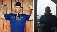 Elisha Nochomovitz z Francie uběhl maraton na balkoně!