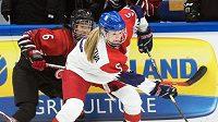 Obránkyně ženské reprezentace Samantha Kolowratová bude působit v barvách klubu Metropolitan Riveters v NWHL.