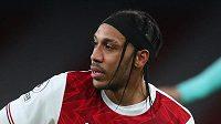 Bude moct v odvetě proti Slavii nastoupit kapitán Arsenalu Pierre-Emerick Aubameyang?