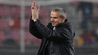 Trenér Sparty Vítězslav Lavička zase mohl děkovat spokojeným divákům.