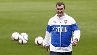 Trenér české fotbalové devatenáctky Jan Suchopárek.
