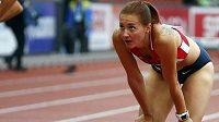 Denisa Rosolová mohla být po skončení třetího rozběhu závodu na 400 metrů překážek spokojená.