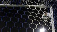 Argentinec Driussi slaví gól.