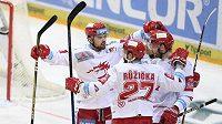 Hokejisté Třince boují o další body s Plzní