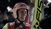 Rakouský skokan na lyžích Stefan Kraft se stal mistrem světa i na velkém můstku.