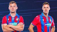 Nové dresy Viktorie Plzeň. Jak se vám líbí...?