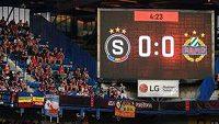 Proti Rapidu povzbuzovalo Spartu 9 tisíc fanoušků, na Monako už může být plný stadion.