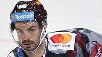 Michal Řepík hrál poprvé po svém návratu z KHL za Spartu.