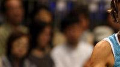 Američanka Lindsay Davenportová ve finále turnaje v Tokiu.