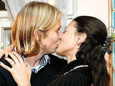 Jaroslav Plašil a Ana Lúcia na snímku z roku 2007.