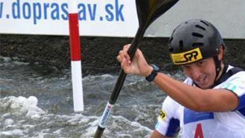 Slovenka Jana Dukátová vyhrála v Praze-Troji MS ve vodním slalomu.