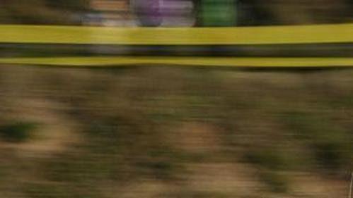 Francouz Philippe Bugalski na trati Katalánské rallye.