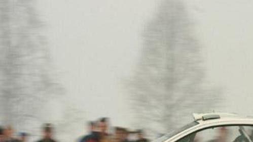 Belgičan Francois Duval s fordem při první etapě Švédské rallye.