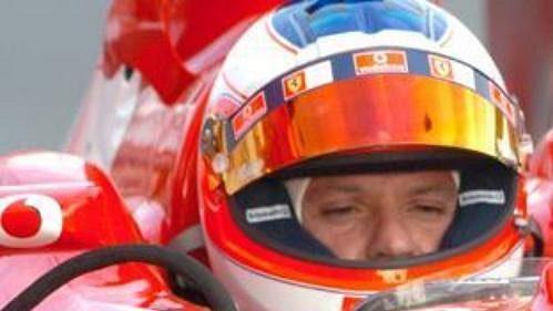 Rubens Barrichello při pražské exhibici.