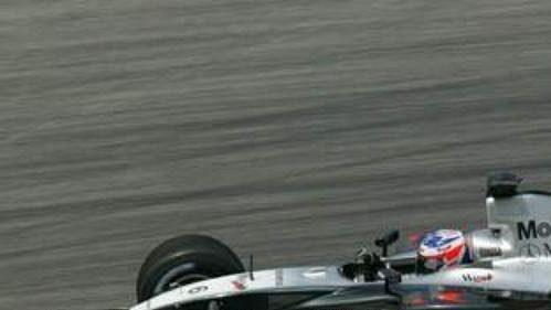 Kimi Räikkönen na trati v Sepangu.