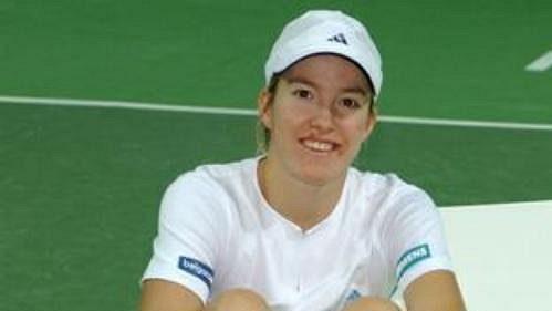 Nová světová jednička Belgičanka Justine Heninová-Hardenneová.