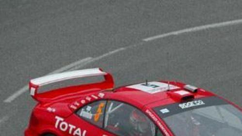 Marcus Grönholm si s novinkou Peugeot 307 WRC vedl na trati Rallye Monte Carlo velice dobře. Po první etapě mu patřila třetí příčka.