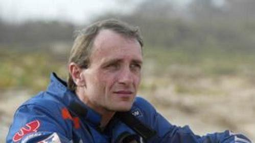 Motocyklista Ivo Kaštan. Na trať slavné Rallye Dakar se letos vydá už posedmé.