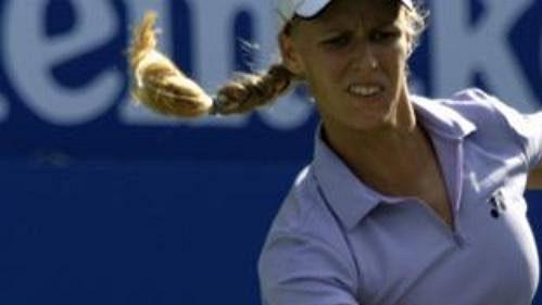 Ruská tenistka Jelena Dementěva
