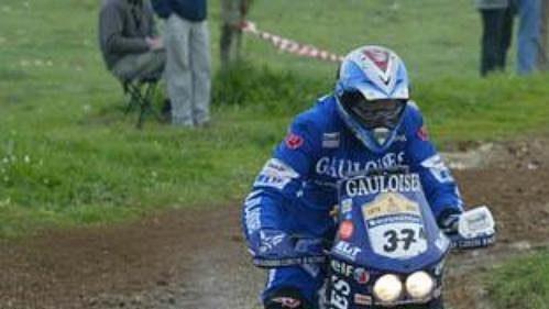 Ivo Kaštan na trati 28. ročníku Rallye Dakar.