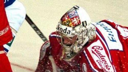 Adam Svoboda v zápase s Finskem.