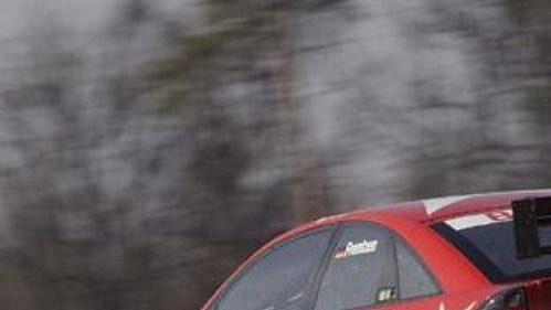 Německý pilot Heinz-Harald Frentzen svůj první ročník v DTM pojede pod křídly týmu OPC Team Holzer s vozem Opel Vectra GTS V8. Na snímku při testech v Brně.