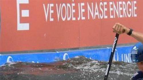 Francouz Tony Estanguet získal na MS ve vodním slalomu v Praze-Troji zlatou medaili.
