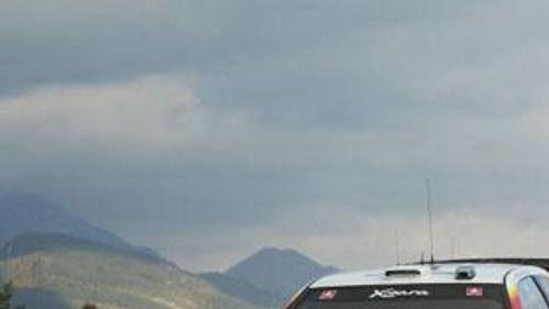 Britský pilot Colin McRae na trati Katalánské rallye.
