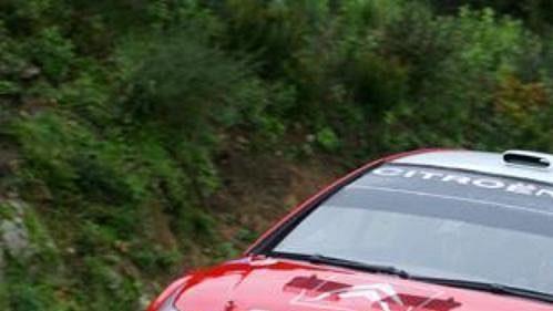 První testy vozu Citroën C4 WRC