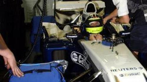 Pilot Ralf Schumacher při testování nového monopostu FW26 týmu BMW WilliamsF1.
