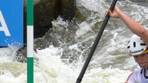 Němka Jenifer Bongardtová obsadila na MS ve vodním slalomu v Praze-Troji třetí místo.