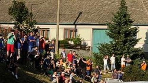 Karel Trněný na trati Horácké rallye.