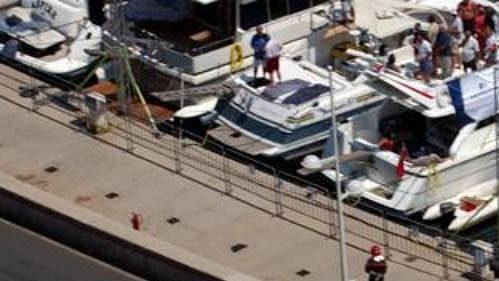 Ralf Schumacher na williamsu pro kvalifikaci na Velkou cenu Monaka.